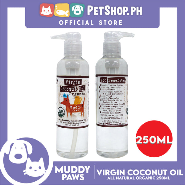 Muddy Paws Virgin Coconut Oil Organic