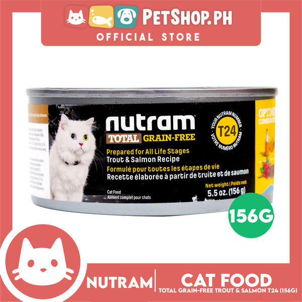 Nutram T24 Total Grain-Free® Trout and Salmon Meal Recipe Cat Food