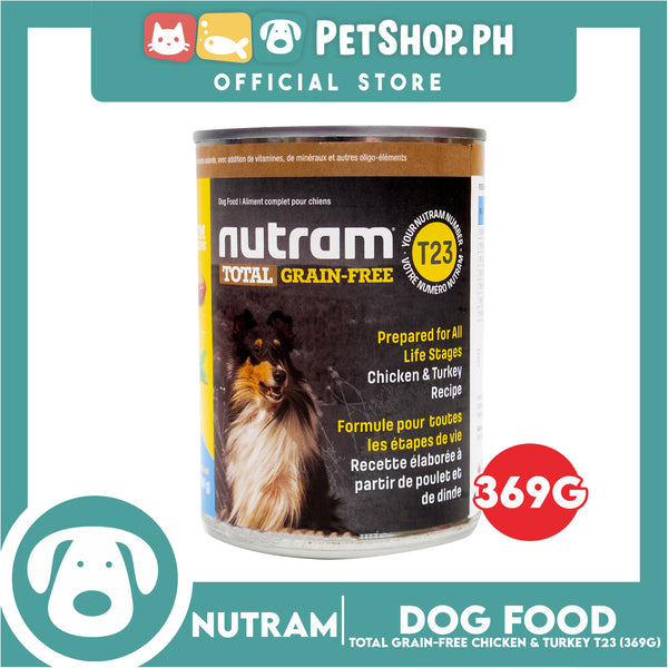 Nutram T23 Total Grain-Free® Chicken and Turkey Recipe Dog Food