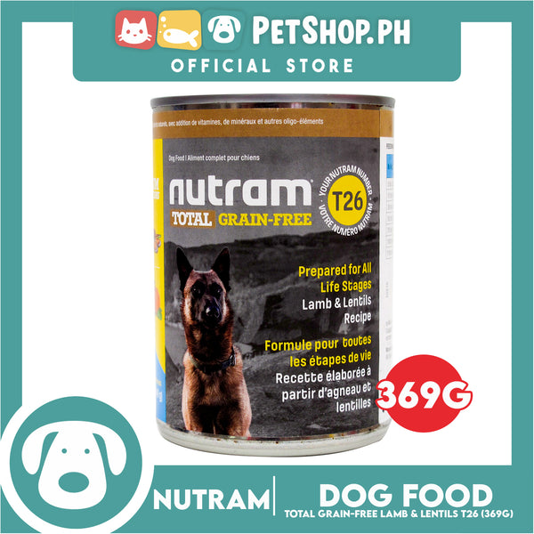 Nutram T26 Total Grain-Free® Lamb and Lentils Recipe Dog Food