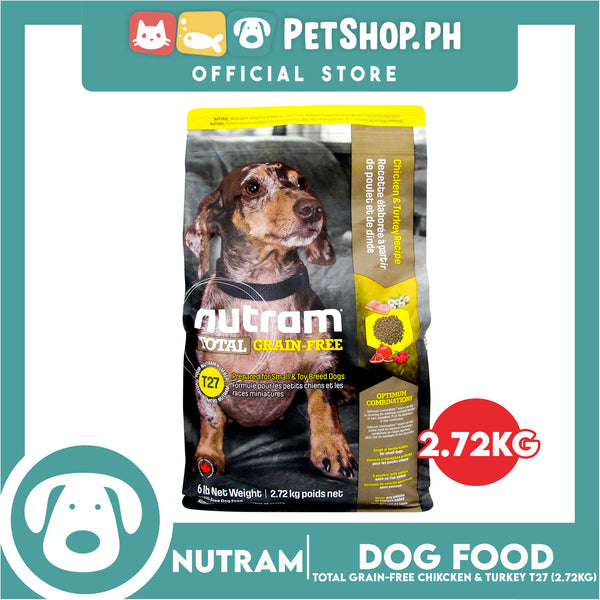 Nutram T27 Total Grain-Free® Chicken & Turkey Dog Food