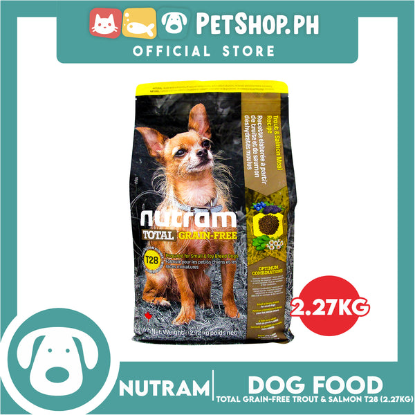 Nutram T28 Total Grain-Free® Trout & Salmon Meal Dog Food