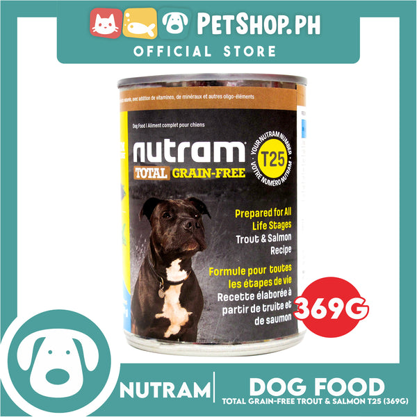 Nutram T25 Total Grain-Free® Trout and Salmon Meal Recipe Dog Food