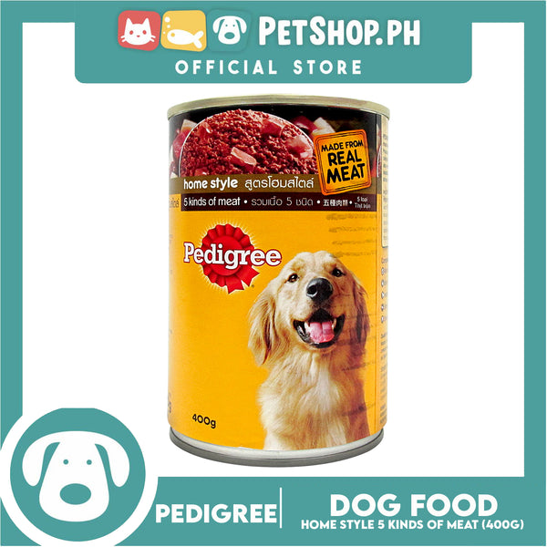 Pedigree 5 Kinds Of Meat 400g