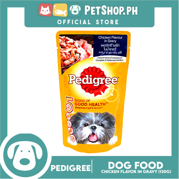 Pedigree Chicken Chunks In Gravy 130g