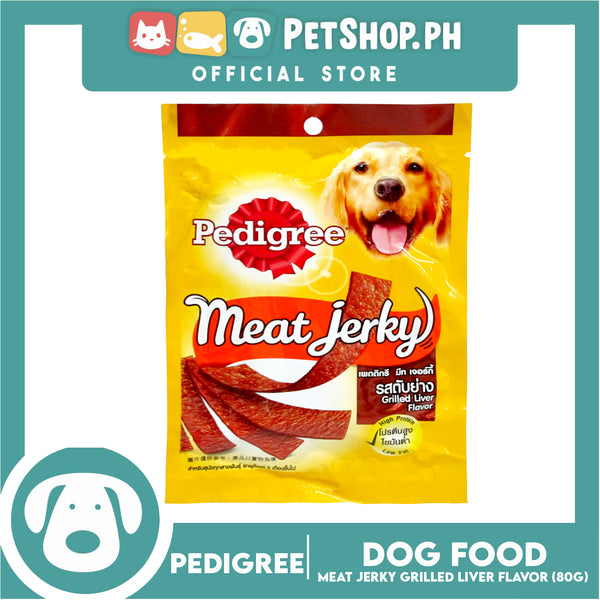 Pedigree Meat Jerky Grilled Liver 80g