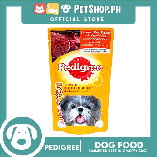 Pedigree Simmer Beef Loaf with Vegetable 130g