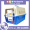 Petto Ai Dog Pet Pink Carrier Crate Blue