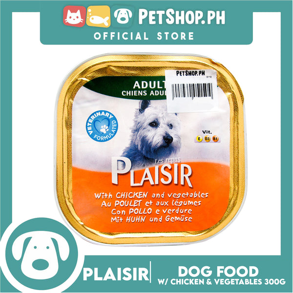 Plaisir Pate with Chicken and Vegetables 300g