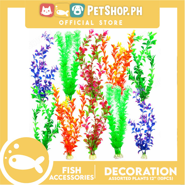 "Plants 12"" 10pcs Assorted"