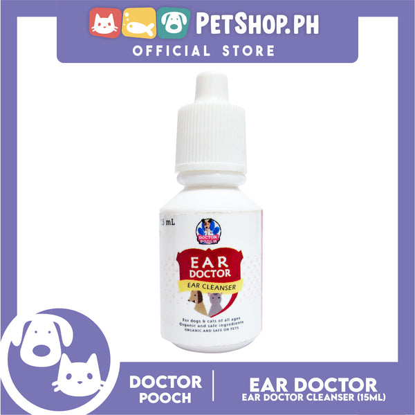 Play Pets Ear Doctor Cleanser 15mL