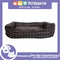 Pet Bed Comfortable Rectangular Pet Bed Plaid Design 50x41x10cm Medium for Dogs & Cats (Brown)