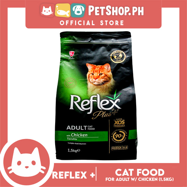 Reflex Adult Cat Food with Chicken 1.5 Kg