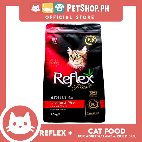 Reflex Adult Cat Food with Lamb & Rice 1.5 Kg