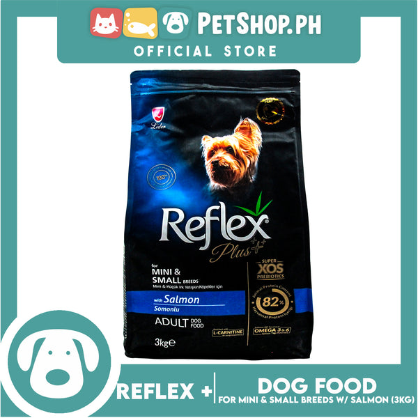 Reflex Adult Dog Food For Mini and Small Breeds with Salmon 3kg