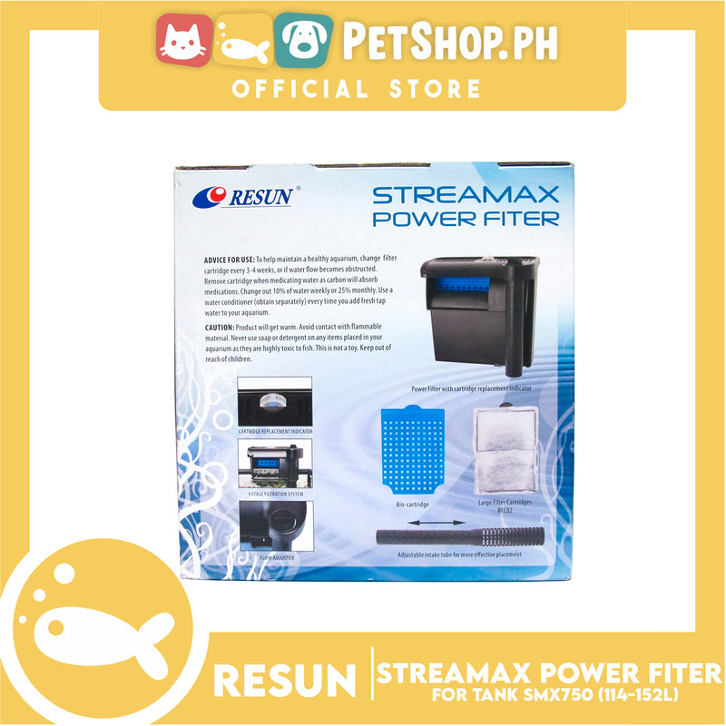 Resun Streamax Power Filter SMX750