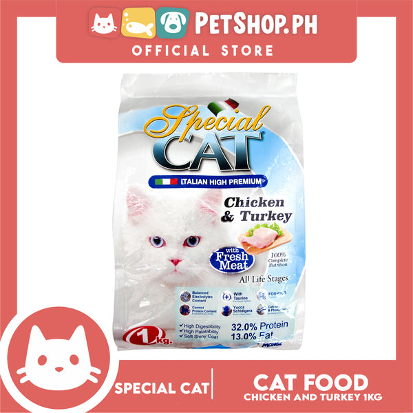 Special Cat Chicken and Turkey 1kg