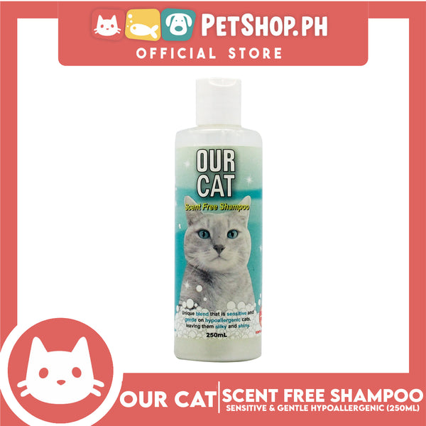 Our Cat Scent Free Shampoo 250mL
