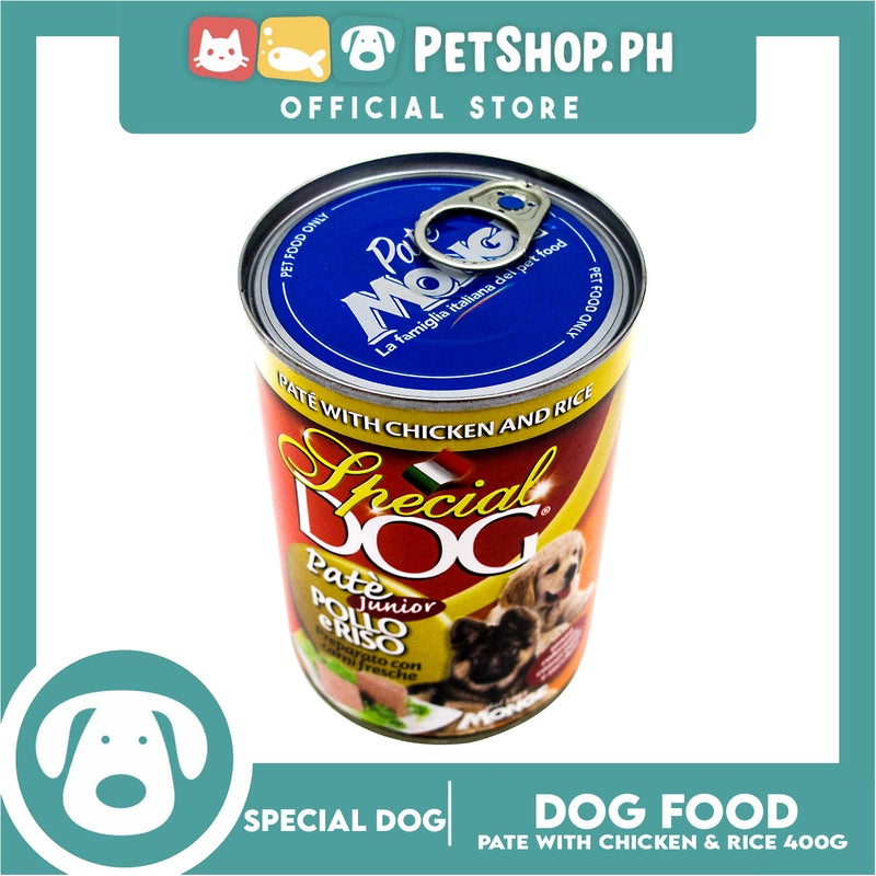 Special Dog Pate with Chicken and Rice for Junior 400g