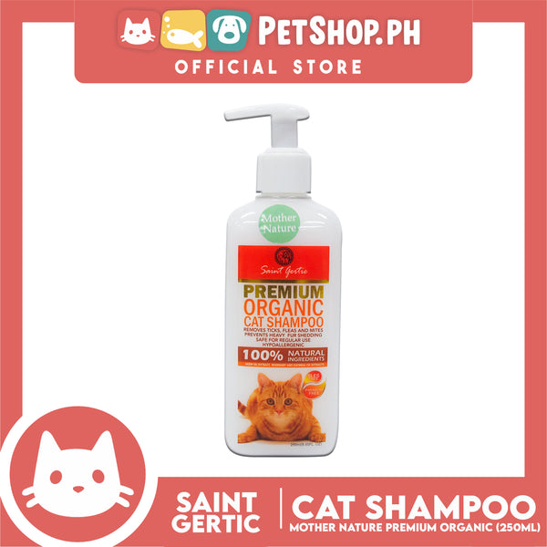 Saint Gertie Premium Organic Cat Shampoo Mother Nature 250ml