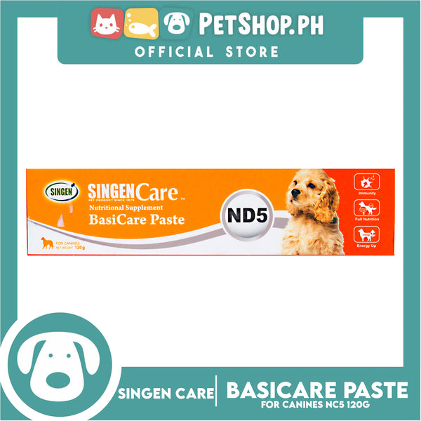 Singen Nutritional Supplement ND5 Basicare Paste for dogs 120g