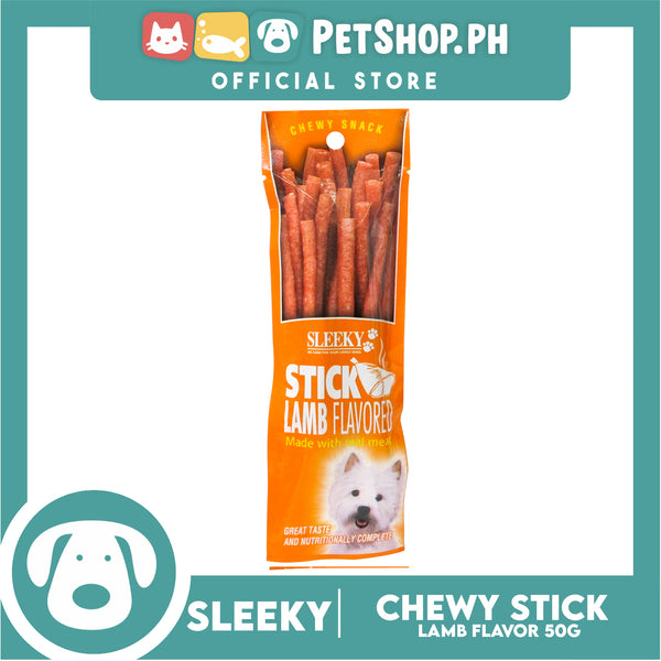 Sleeky Chewy Stick Lamb Flavored 50g
