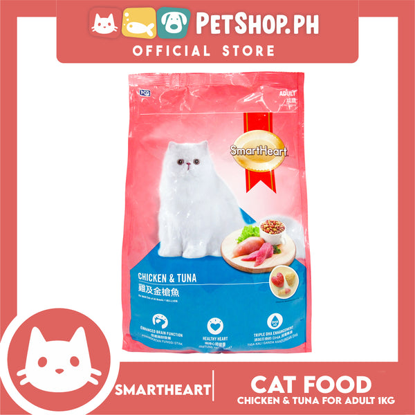 PCG SmartHeart Cat Chicken & Tuna 1.2kg