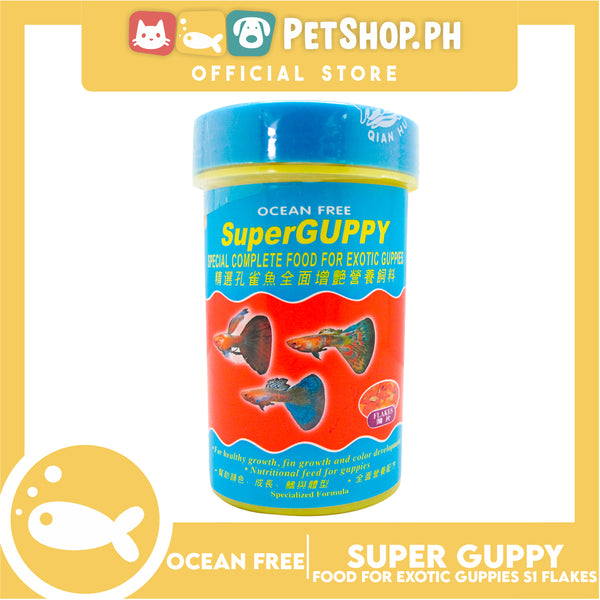 Ocean Free Super Guppy S1 Flakes