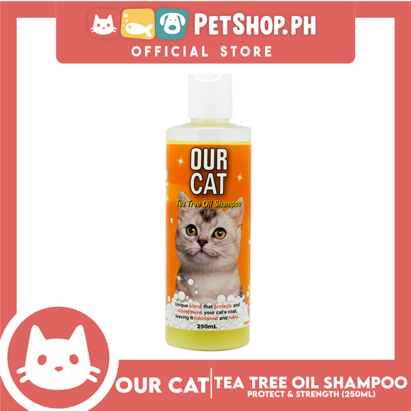 Our Cat Tea Tree Oil Shampoo 250mL