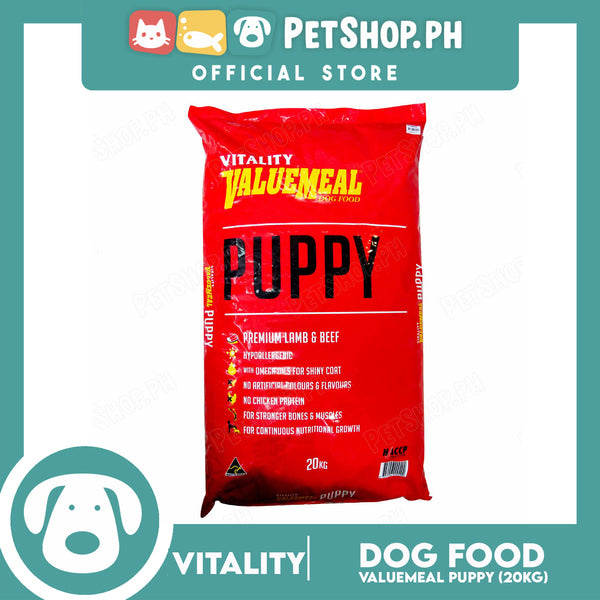 Vitality Valuemeal Puppy Small Bite 20kgs