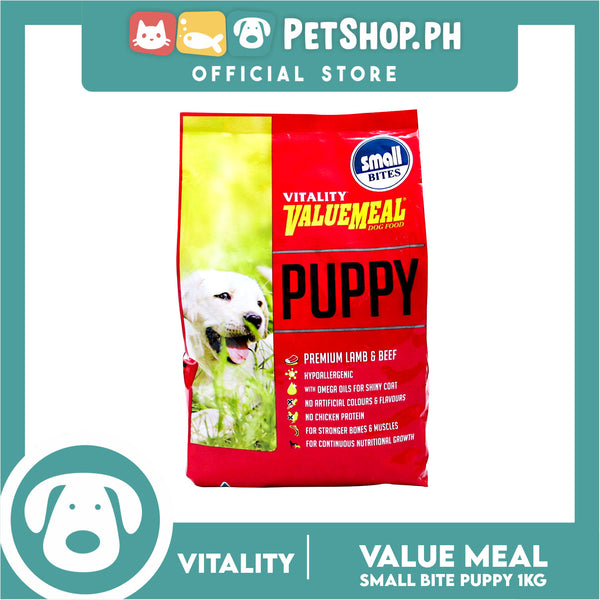 Vitality Valuemeal Puppy Small Bite