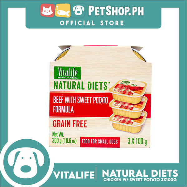 VitaLife Natural Diets Beef with Sweet Potato Formula 300g
