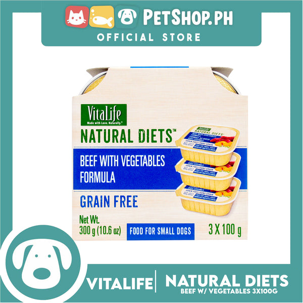 VitaLife Natural Diets Beef with Vegetables Formula 300g
