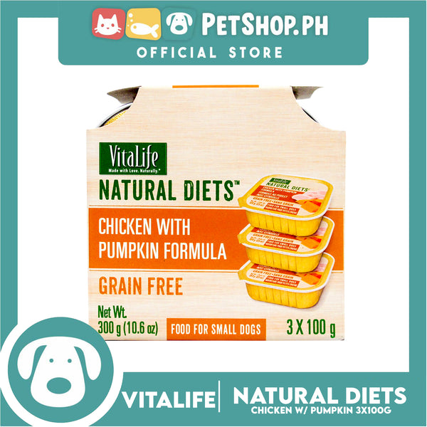VitaLife Natural Diets Chicken with Vegetables Formula 300g
