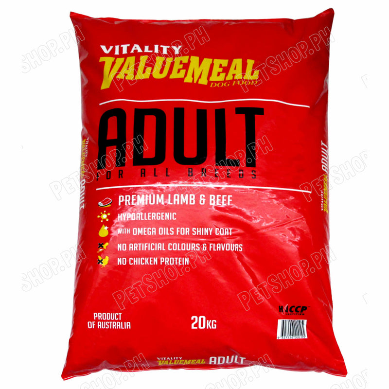 Vitality Valuemeal Adult Small Bite