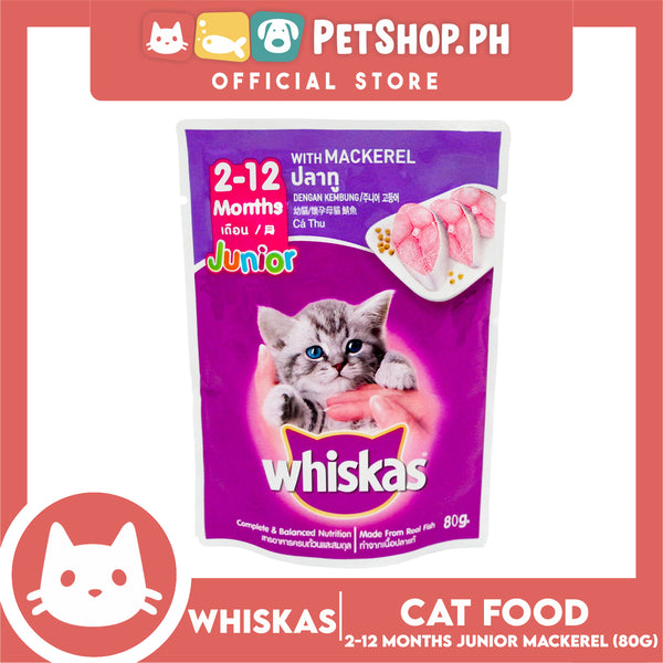 Whiskas Junior Mackerel 85g