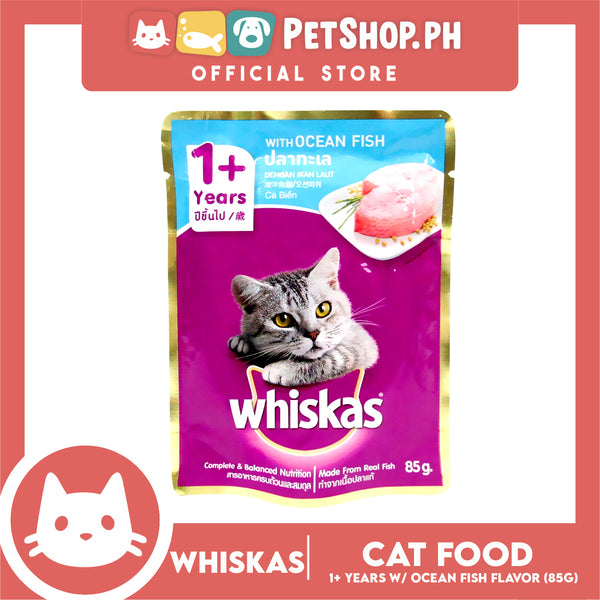 Whiskas Ocean Fish 85g for 1+ Years
