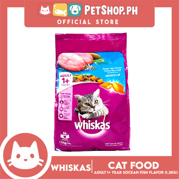 Whiskas Pocket Ocean Fish 1.2kg