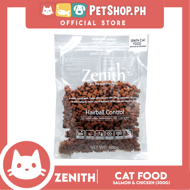 Zenith Cat Hairball Salmon & Chicken (2034) 300g