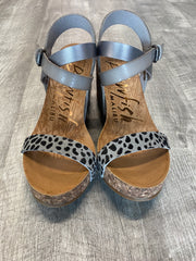 Hirosha Sandals by Blowfish in Pewter & Leopard