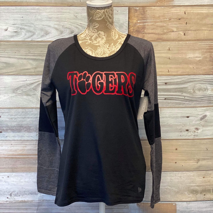 PHS Tigers Long Sleeve Shirt in Black and Gray