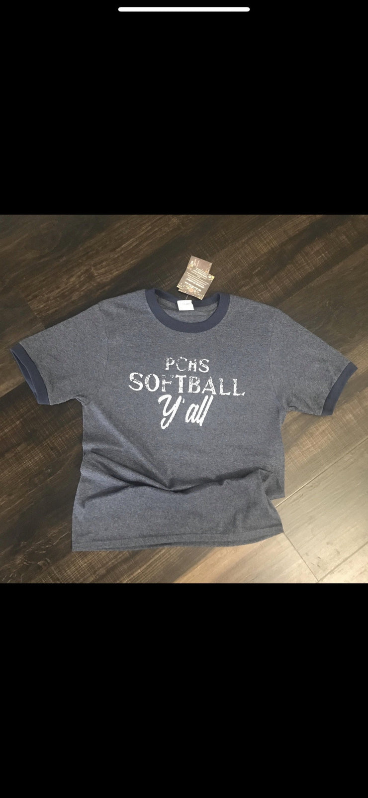 PCHS Softball Y'all Shirts - The Teal Turtle Clothing Company