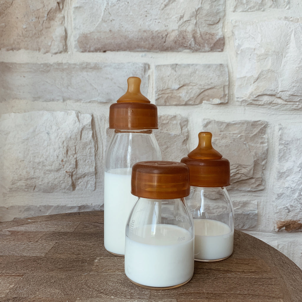 Glass Baby Bottle Twin Pack | 10 oz