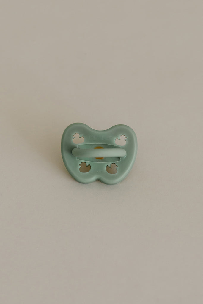 Hevea Pacifier | Moss Green Orthodontic