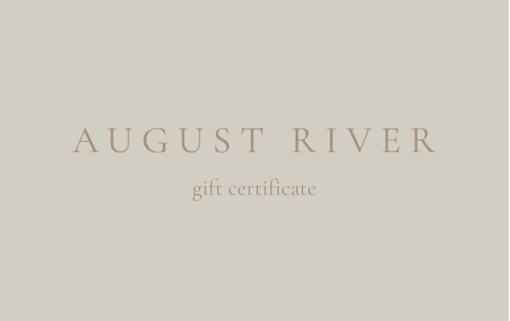 August River Gift Card