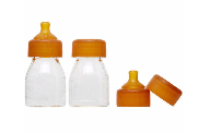 Glass Baby Bottle Twin Pack | Minis 150 ml