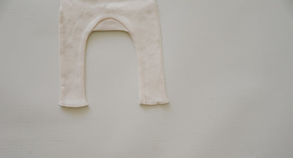 High Belly Pant | Ivory