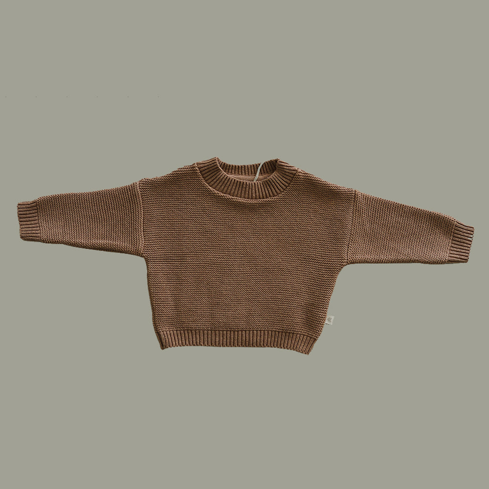 Knit Sweater - Clay