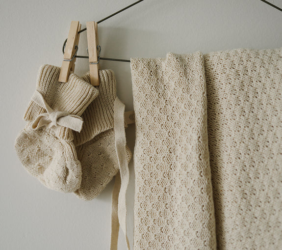 Knit Heirloom Blanket