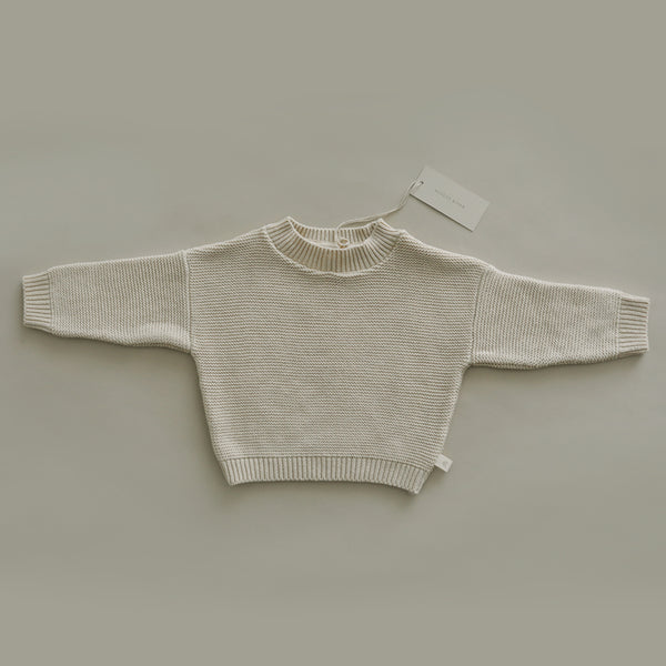 Knit Sweater - Natural